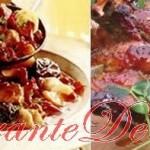 Reţete cu carne de porc: piept de porc şi fistic, porc cu cidru şi varză roşie, costiţe de porc rumenite