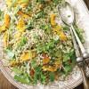 Salată de dovleac, portocală şi orz