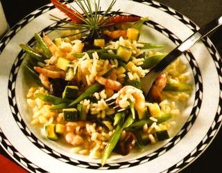 Salată asiatică din orez