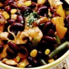 Salata asortata cu fasole