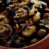 Salata calda cu ciuperci