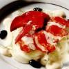 Salată de homar cu fenicul şi maioneză cu portocale