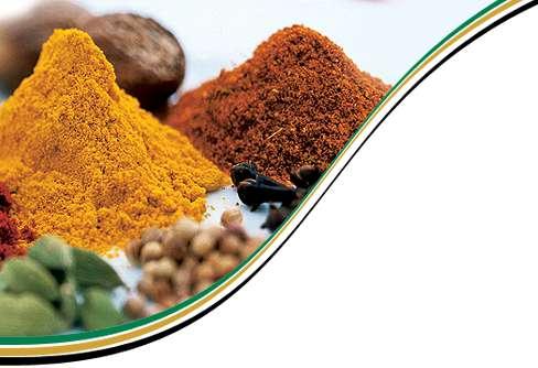 4 condimente speciale: Sofran, Tumeric, Curry si Nucsoara