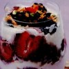 Farfait cu fructe de vară