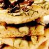 Focaccia cu şofran şi crustă de dovlecei