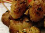 Frigarui de cartofi noi cu usturoi