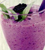 Shake delicios cu fructe de padure