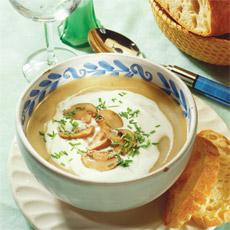 Supa crema de ciuperci champignion