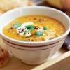 Supa picanta de morcovi cu linte