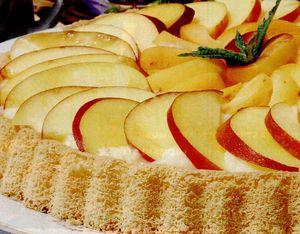 Tarta cu trei fructe