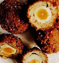 Chiftelute umplute cu ou (Scotch Eggs)