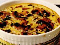 Retete delicioase: Ciuperci gratinate