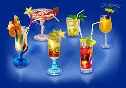 Cocktail cu piersici si prosecco