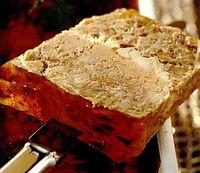 Pateu de fazan cu foie gras