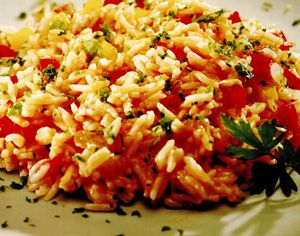 Retete de post: Pilaf de orez cu legume