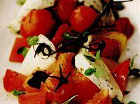 Salata caprese cu oregano