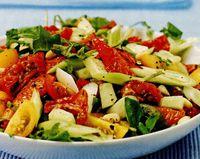 Salata de vara cu dressing de miere