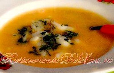 Supă cremă de peşte