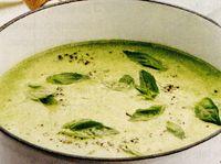 Supa de mazare cu busuioc
