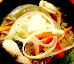 Supă indiană cu tăieţei de orez