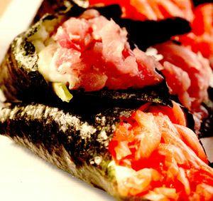 Sushi cu ton picant