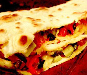 Burritos cu legume