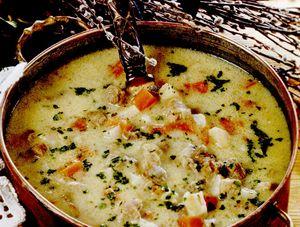 Ciorba de legume cu carne de miel
