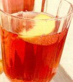 Cocktail de vin cu fructe