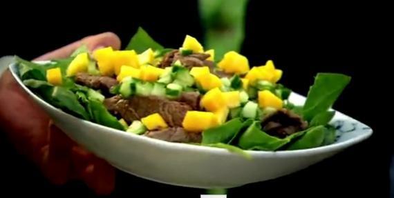 Cum se prepara salata de vita dulce picant