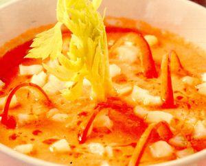 Gazpacho cu ulei de alune