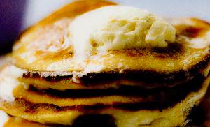 Pancakes cu afine si ricotta