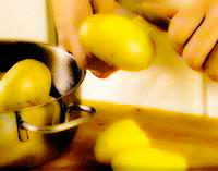 Rulada de cartofi cu ghebe