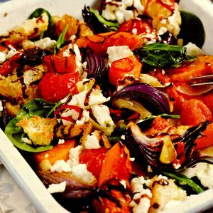 Salata de dovleac cu branza feta
