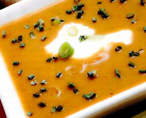 Supa crema cu ghimbir