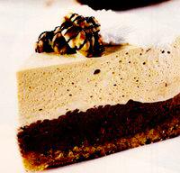 Tort mousse în două culori
