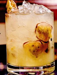 Cocktail Batida de Maracuja (Passion fruit)