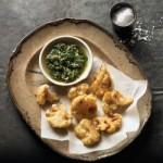 Retete de post: Conopidă prăjită cu sos de pătrunjel