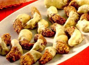 Cornulete delicioase cu nucă