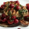 Cum se prepara Bruschetta cu Peste Spada la gratar (video)