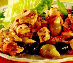 Retete delicioase: Mancare de porc cu masline