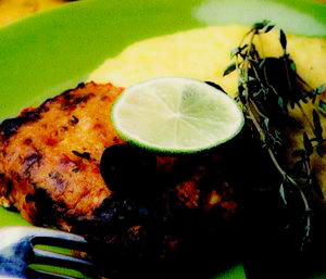 Peşte picant cu mămăligă