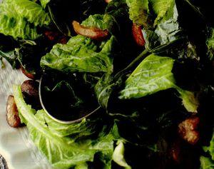 Salata de castane cu verdeata