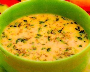 Supa de chimen cu grau