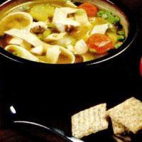 Supa de casa cu legume