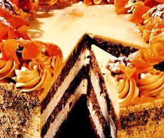 Tort cu crema de caramel