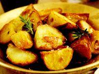 Cartofi rumeniţi la cuptor
