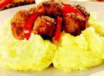 Chifteluţe din carne de vită şi porc