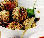 Chifteluţe picante cu orez