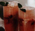 Cocktail de Campari cu zmeura