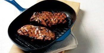 Cotlete de porc glazurate